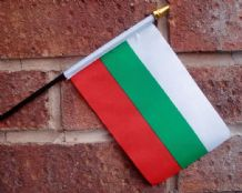 HAND WAVING FLAG (SMALL) - Bulgaria